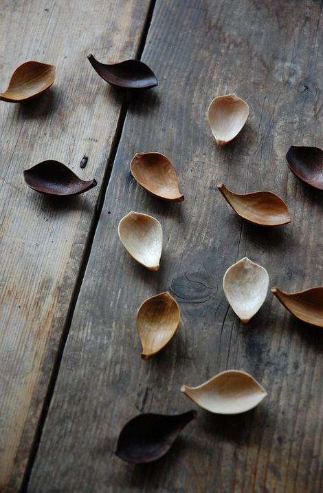 Takashi Tomii Lotus Petal Bowls.