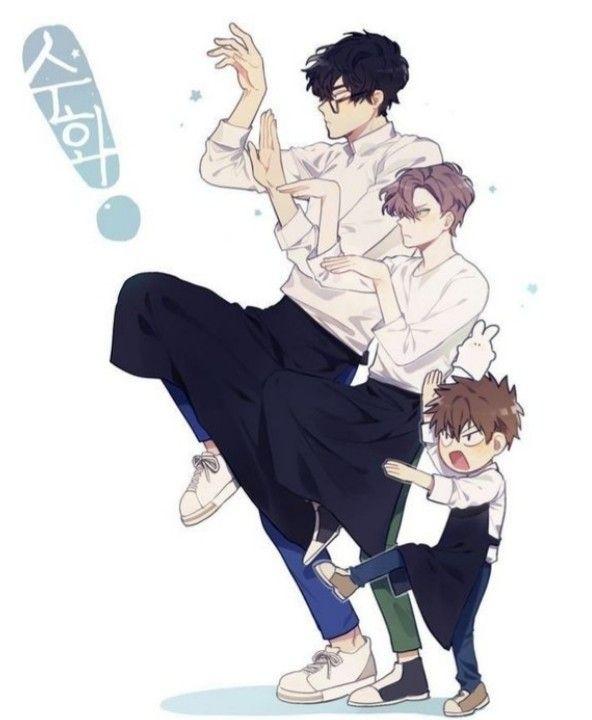 Pin de Maiia Shpagonova em яой   Manga anime, Personagens ...