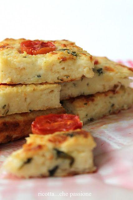 Torta di pane con scamorza