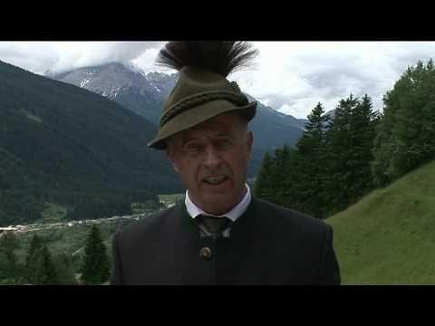 Südtirol - Freiheitskämpfer Sepp Forer - Gedenkrede in Sexten