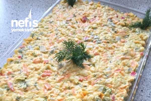 Kabaklı Yoğurtlu Nefis Salata