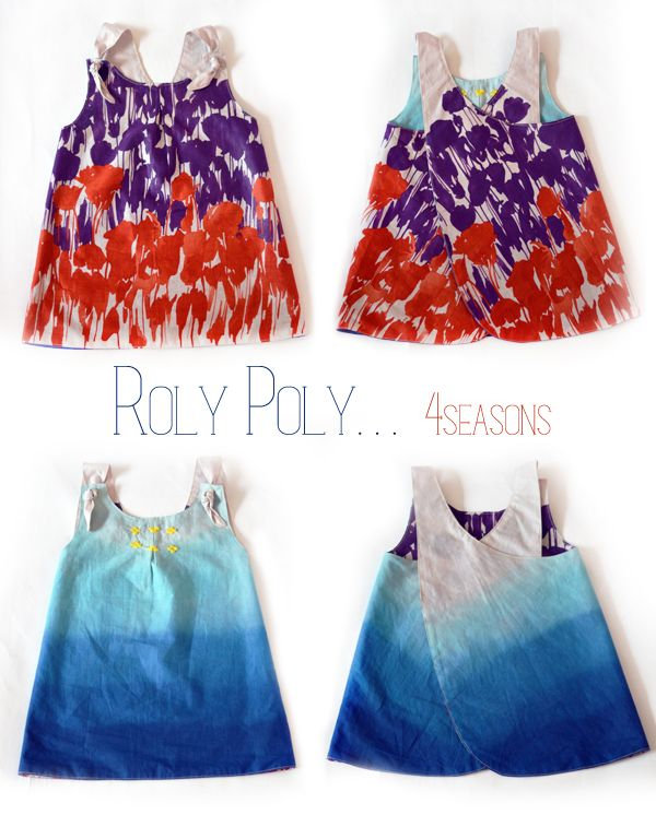 Roly Poly- 4 Seasons    petit à petit and famil // PDF pattern giveaway