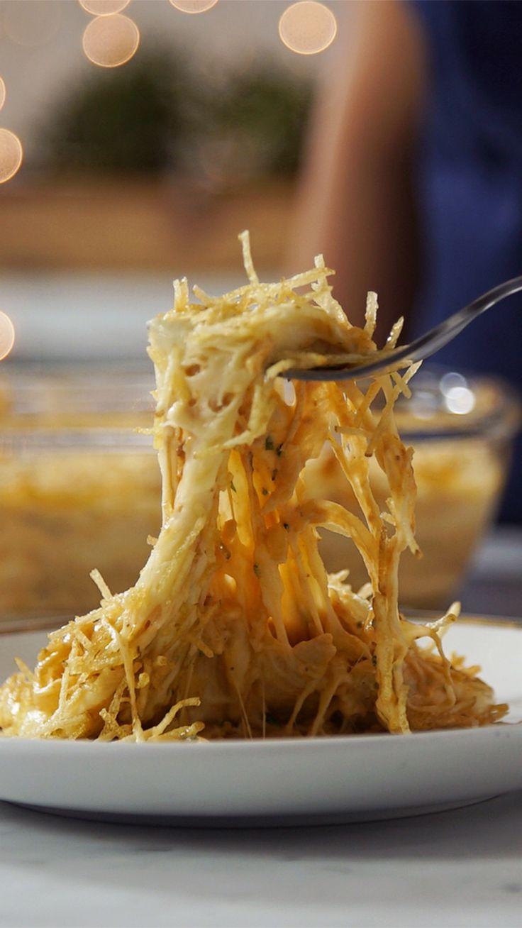 Pastel de Pollo Cremoso y Crocante ~ Receta   Tastemade