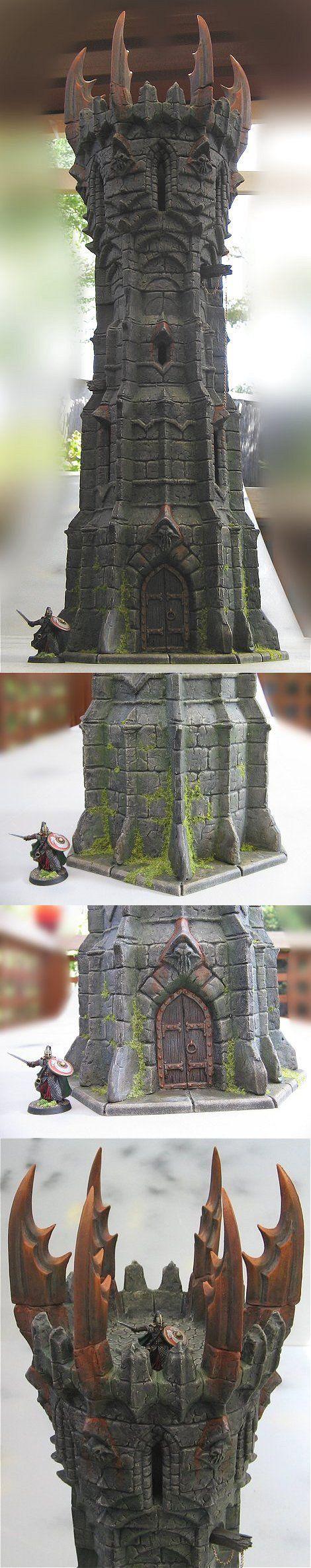Terrain - An Evil Tower for LotR
