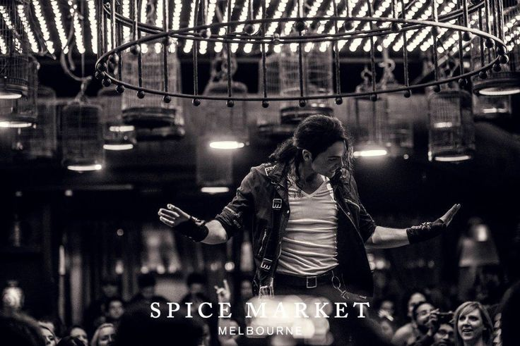 Last weekends 8th anniversary Remembering Michael Jackson night at Spice Market.