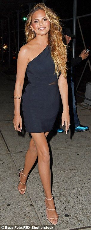 Starlet: The Sports Illustrated star certainly turned heads as she strutted down the stree...