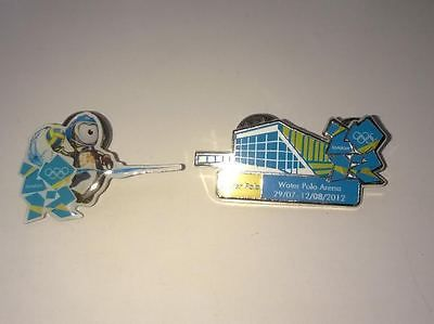 London 2012 olympics water polo #venue & #mascot pin #badge set of 2  loose,  View more on the LINK: 	http://www.zeppy.io/product/gb/2/311459327680/