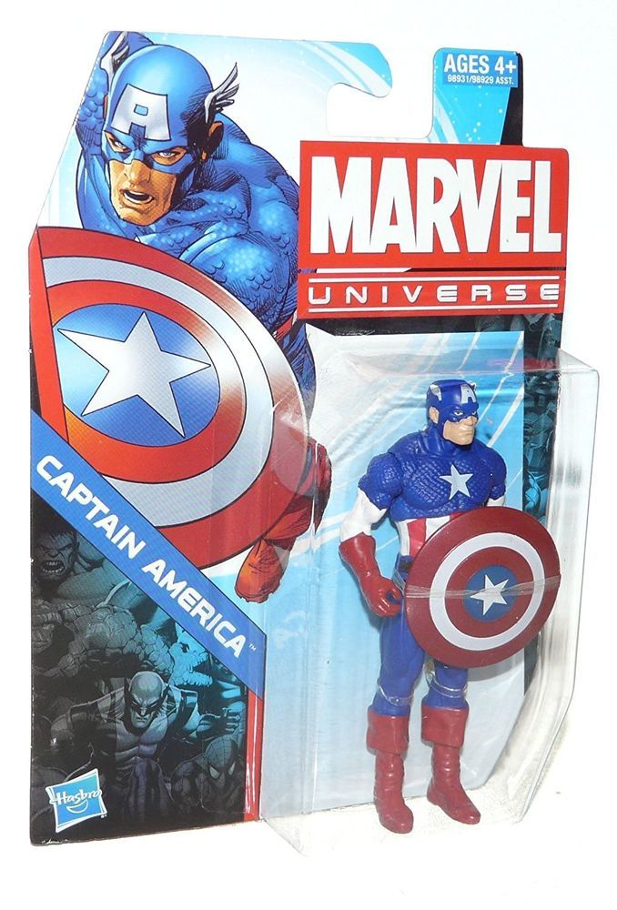 "Hasbro Marvel Avengers 6/"" Action Figure Captain America Sealed Ships Free"