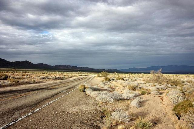 Open Road || Mojave Desert