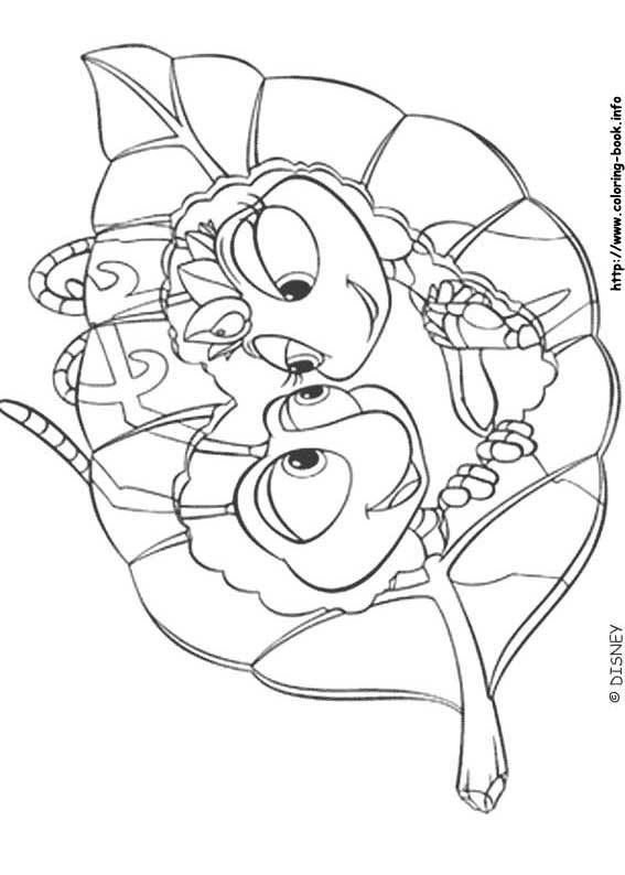 Bugs Life Coloring Page 13 Is A From BookLet Your Children Express Their Imagination When They Color The