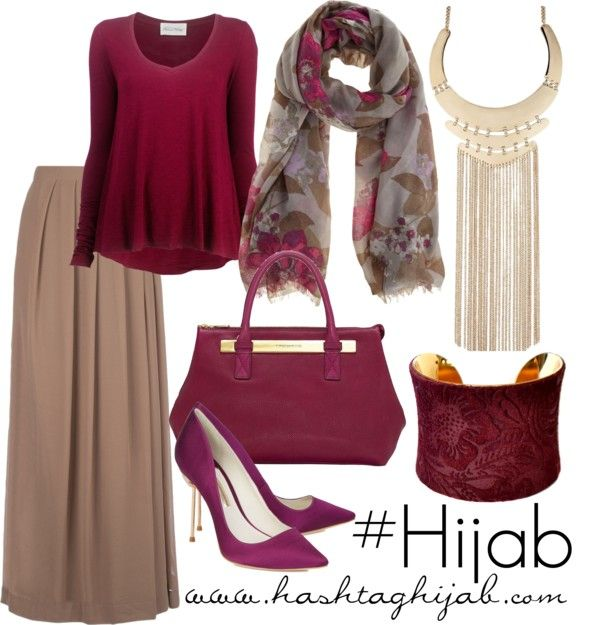burgundy and tan