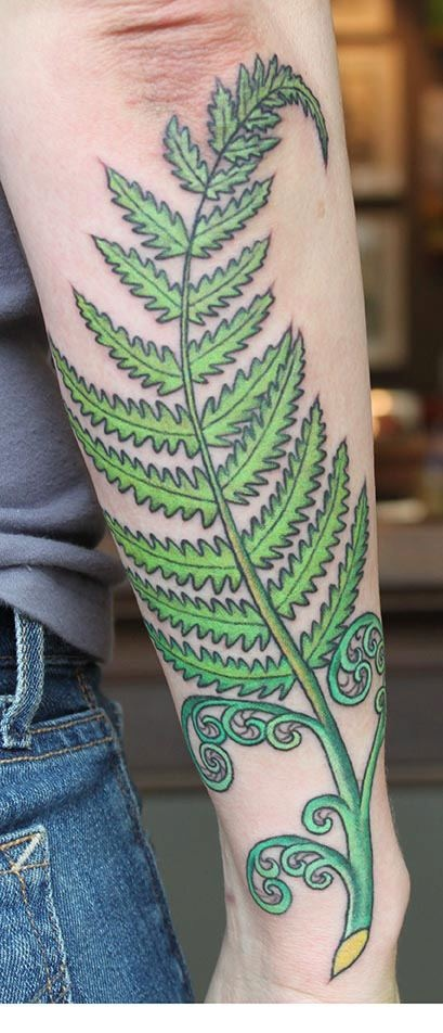my fern tattoo