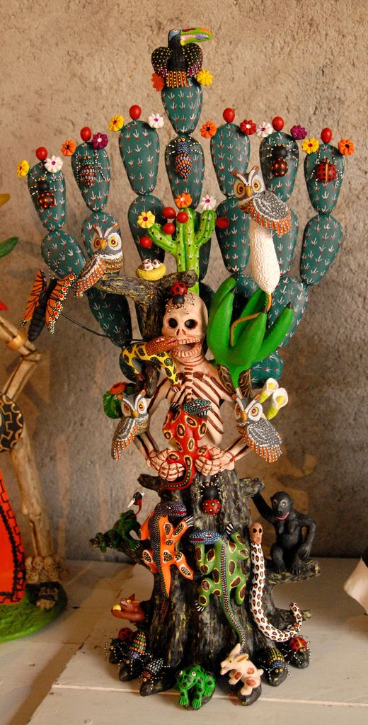 Skeleton Woman Nopal Mexico | Flickr - Photo Sharing!