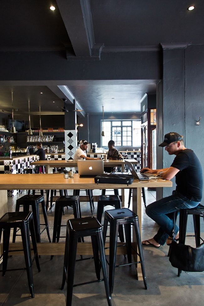 Bootlegger Coffee Co. Cape Town by OLGA BARROW INTERIOR DESIGN STUDIO