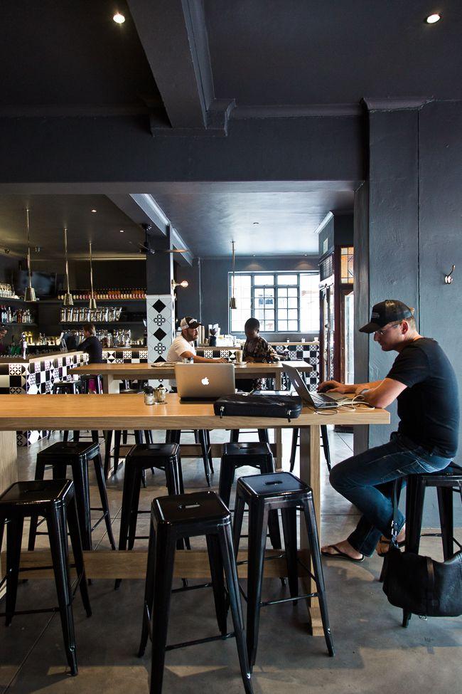 Bootlegger Coffee Co. Cape Town by OLGA BARROW INTERIOR DESIGN STUDIO