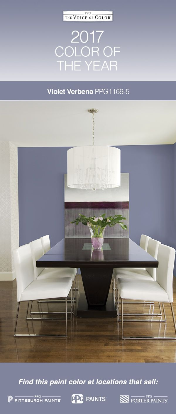 2017 Paint Color Of The Year Violet Verbena Adapts To Surrounding Environments