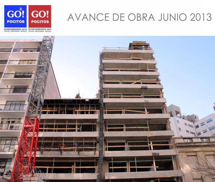 Avance de obra Junio 2013