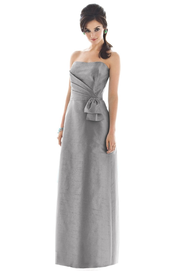 42 best gray bridesmaid dresses images on pinterest gray alfred sung d473 bridesmaid dress weddington way ombrellifo Image collections