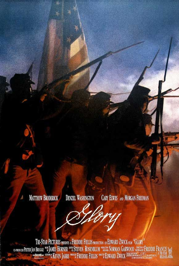 an analysis of the civil war in the movie glory Glory was the first major motion picture to tell the story of black us soldiers fighting for their freedom from slavery during the civil war the 1965 james stewart film shenandoah also.