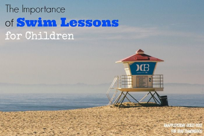 Importance of Swim Lessons for Children