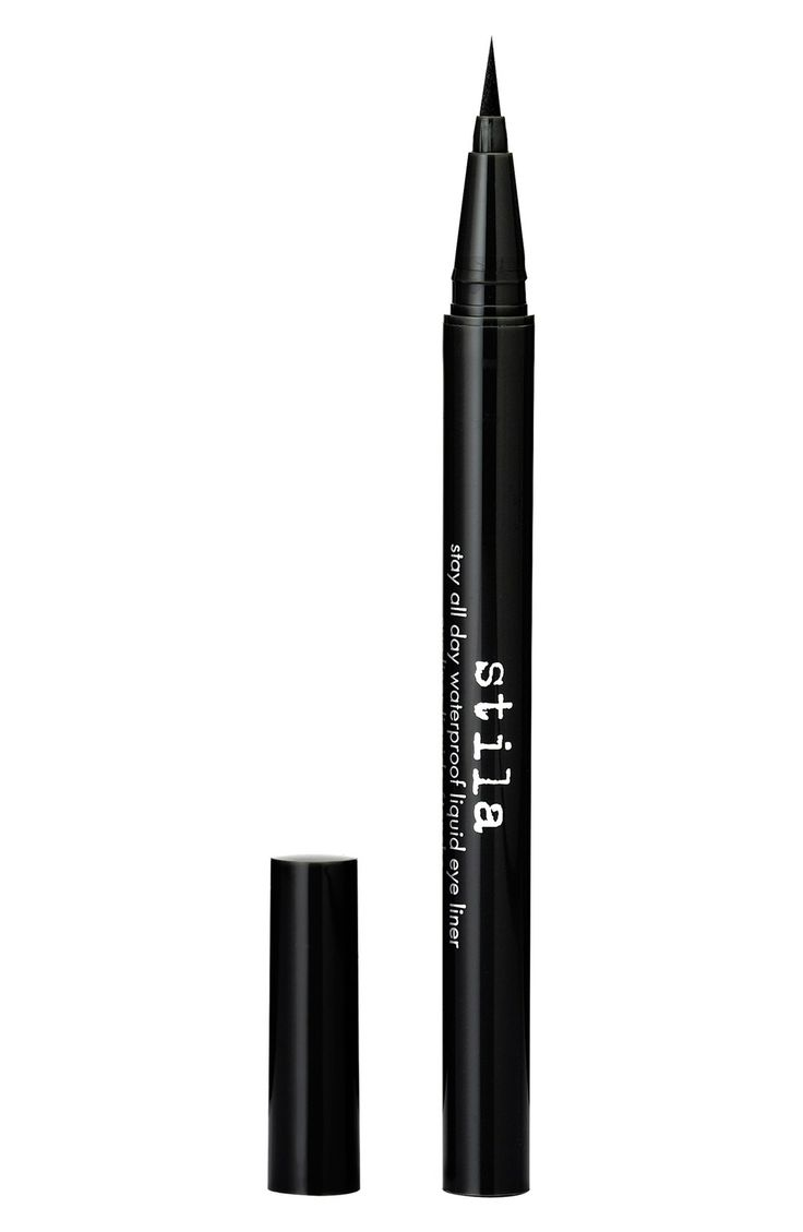 stila 'stay all day' waterproof liquid eyeliner - Shaeffer says it's the best