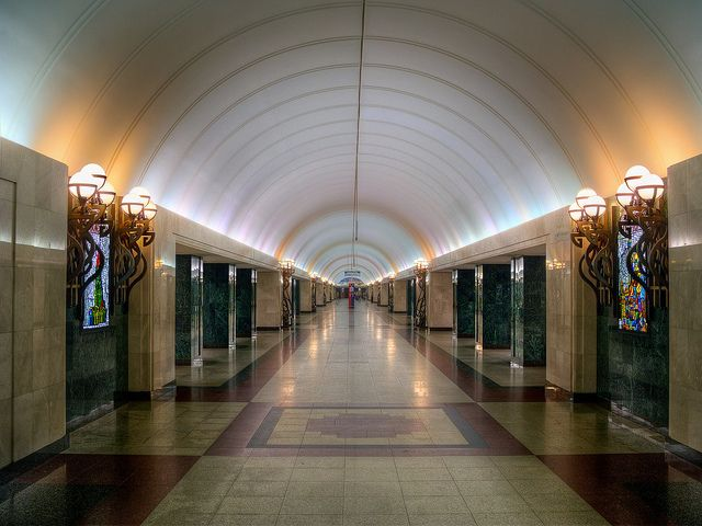 Best Subway Images On Pinterest Metro Station Moscow Metro - Vibrant photos of international subways capture their unappreciated beauty