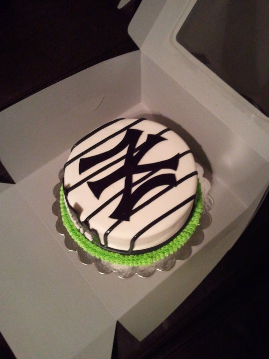 NY yankee cake