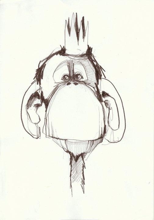 Ape by Ekaterina Koroleva