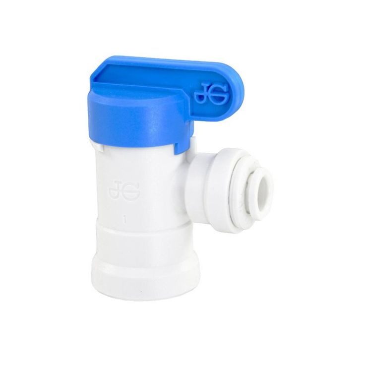 Tank Ball Valve - 1/4 in. Nptf 1/4 in. Output for Reverse Osmosis Storage Tank (for Standard System)