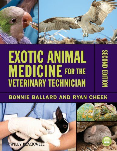 Exotic Animal Medicine for the Veterinary Technician by Bonnie Ballard -- great for Techs, vet students, those with little experience with exotics & also helpful for beginning practitioners. Great husbandry, anatomy, common diseases and other basics!