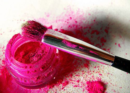 Pink: Make Up, Pink Eye, Eyeshadow, Color, Makeup, Hot Pink, Beauty, Pretty