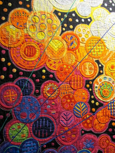 Fumiko Nakayama, molas lover, and her large works created with great detail and…