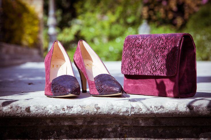 Ladies spanish leather court shoe, Pandora 2