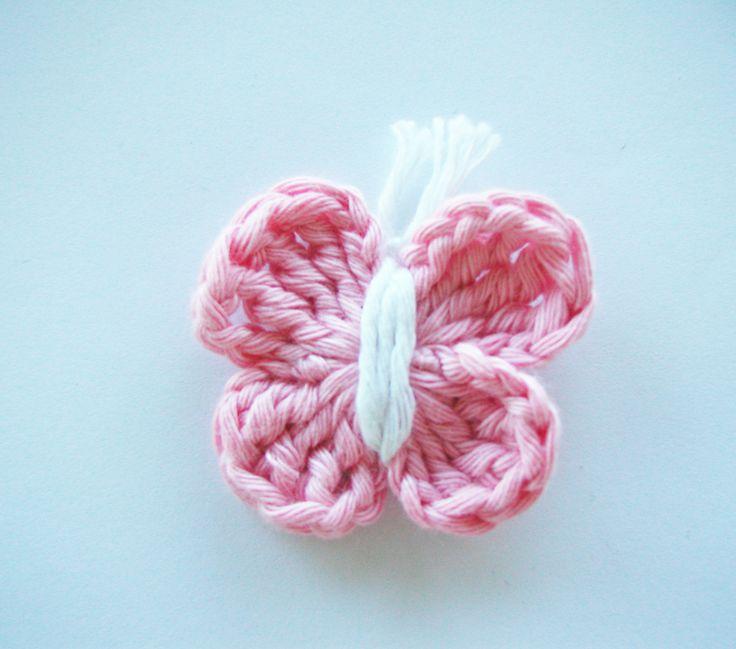 Crochet butterflies (pattern)