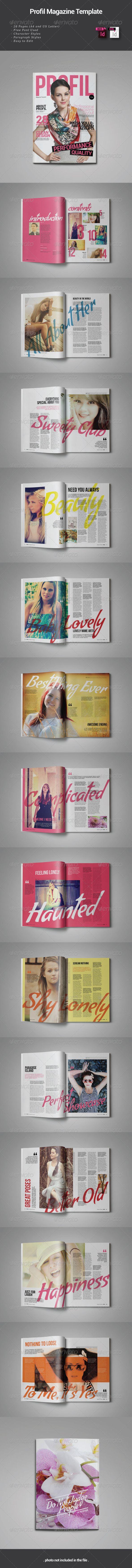 Mejores 650 imágenes de Magazine Templates Ideas en Pinterest ...