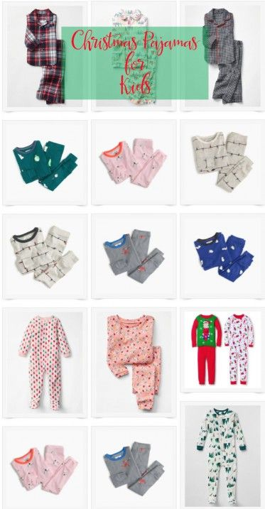Christmas Pajamas for Kids // Fancy Ashley