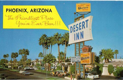 Desert Inn Motel Phoenix Az Best Western Motel Arizona