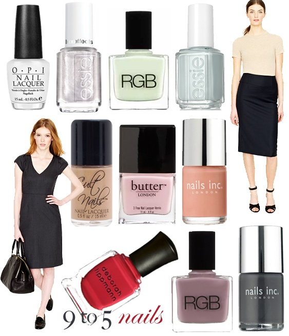 top office-appropriate polish picks for the season