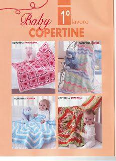 Raccolta schemi all'uncinetto per realizzare copertine, cuscini, orsacchiotti e tasca porta riviste ecc                                    ...