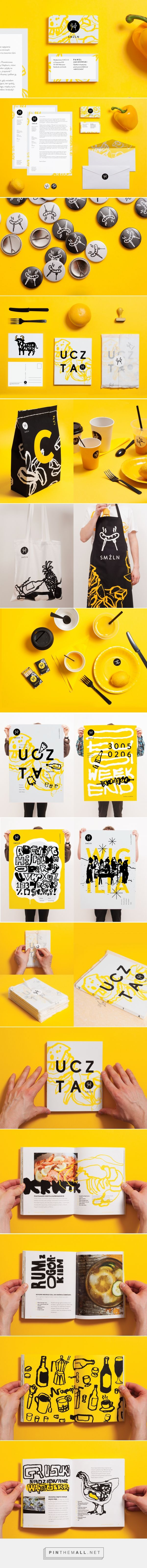 SMŻLN Culinary Publishing Company Branding by Pawel Jaczewski | Fivestar Branding Agency – Design and Branding Agency & Curated Inspiration Gallery