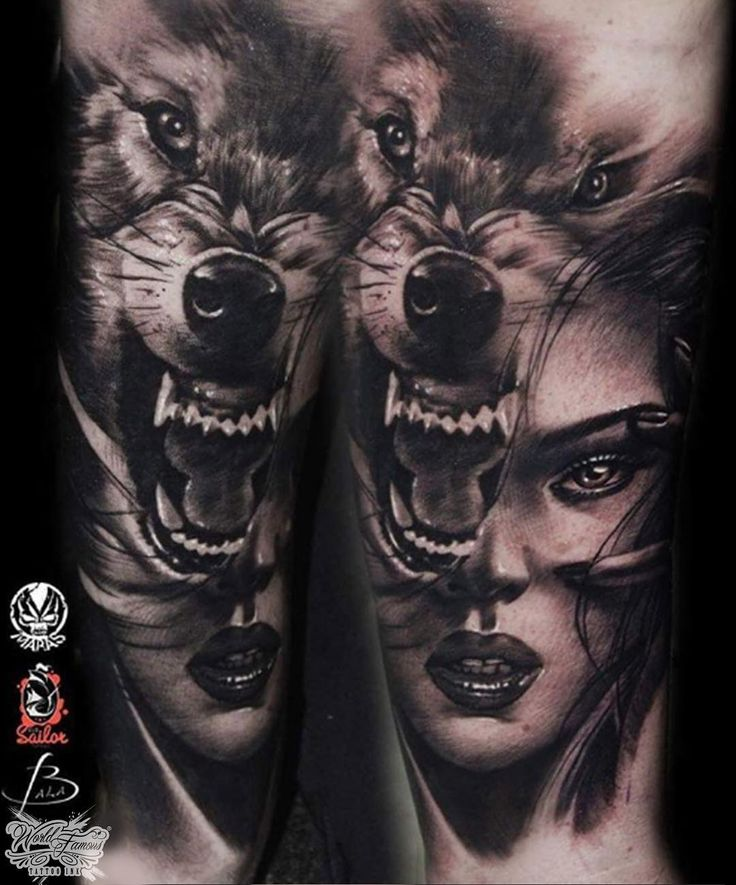 Tattoo Woman In Wolf: Best 25+ Wolf Girl Ideas On Pinterest