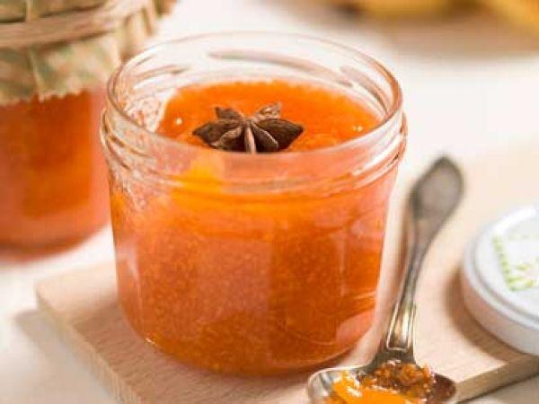 Confituur van wortel en kumquat met gember en steranijs
