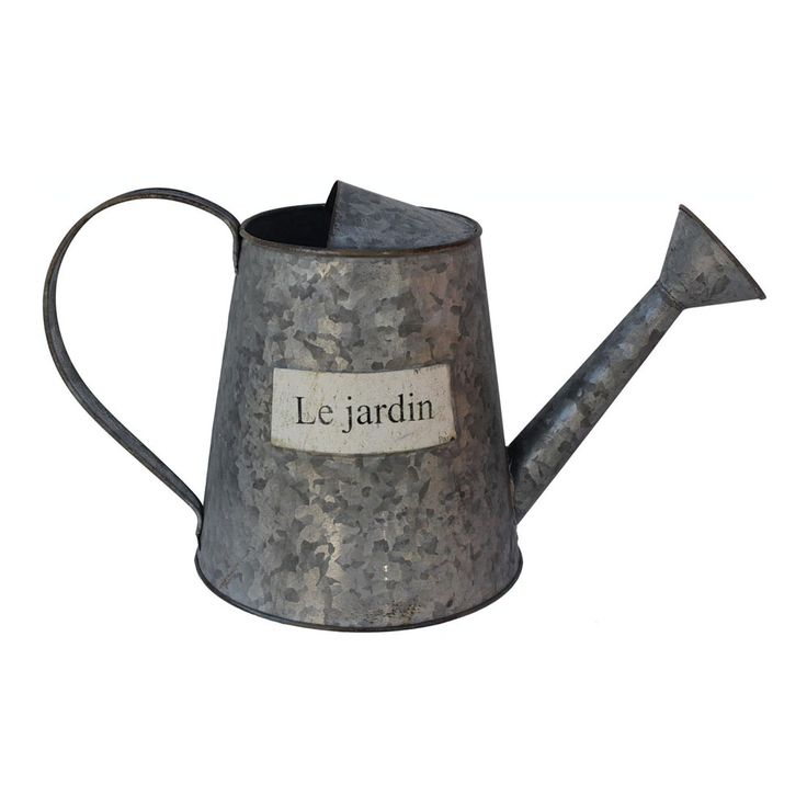 Le Jardin Watering CanGardens Ideas, Jardin Water, French Romances, Gardens Tools, Watering Cans, White Le, Water Cans, French Cottages, Garden