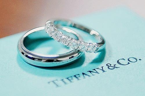 tiffany wedding bands <3