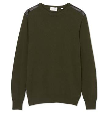 MARCS - SMITH CREW NECK JUMPER - Forest Green