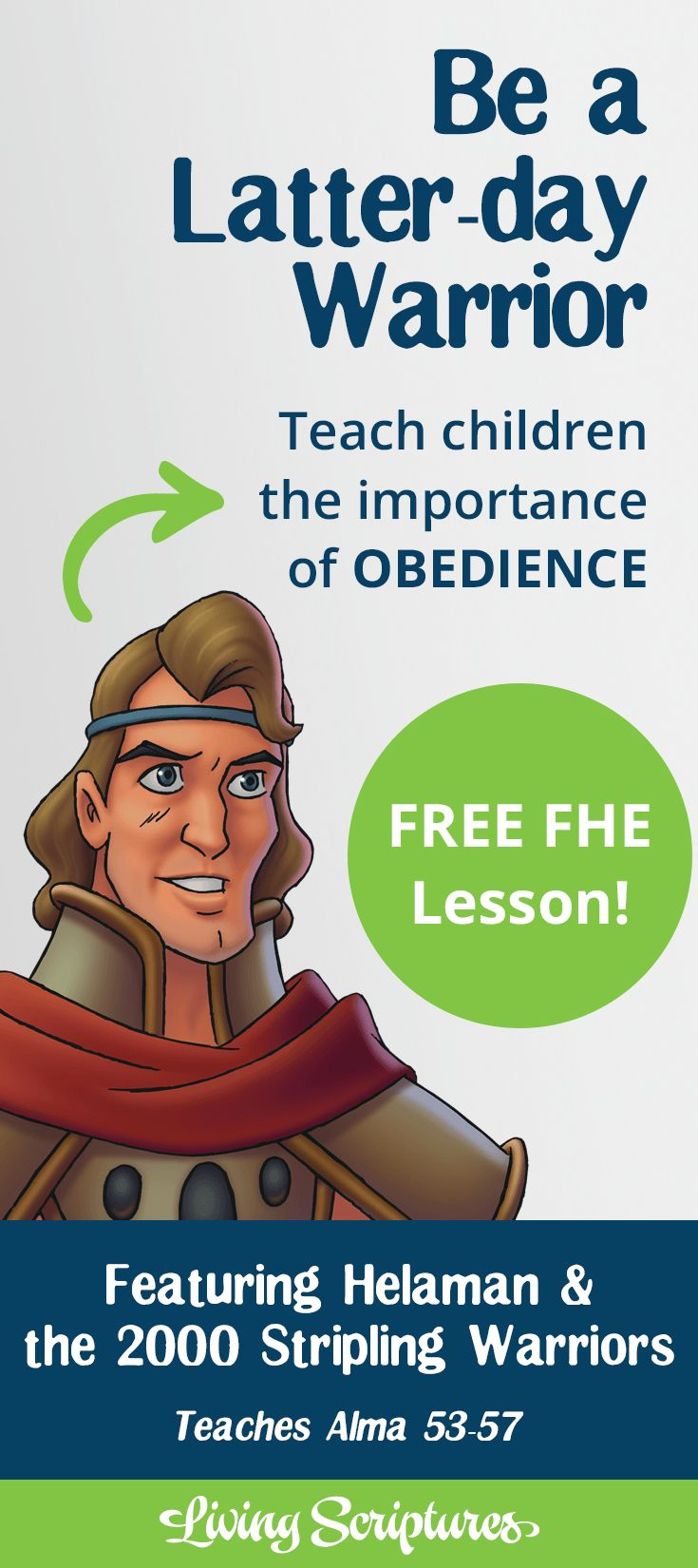 Teach your children the importance of being obedient with the FREE family home evening lesson.
