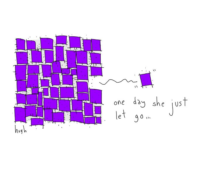 She Let Go - GapingVoid