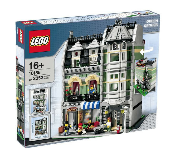 Green Grocer Set Number: 10185 Year: 2008 Pieces: 2352 Theme: Creator Modular Buildings