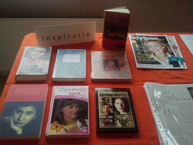 Inspiratie met dagboeken van o.a. Anne Frank en Etty Hillesum. Het aangrijpende verhaal van Freedom Writers. En vele informatieve en inspirerende artikelen over creatief (dagboek)schrijven.