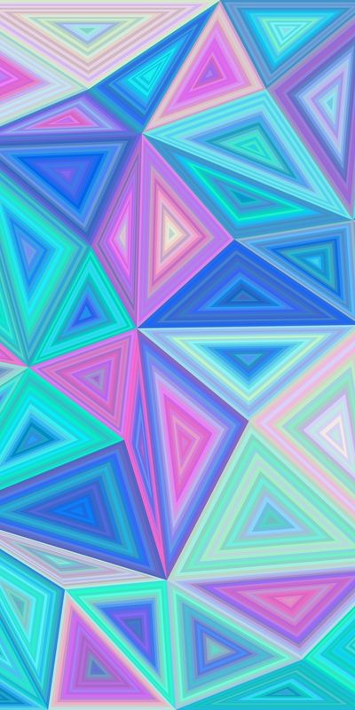 50+ vector backgrounds - Colorregular triangle tile mosaic background collection...